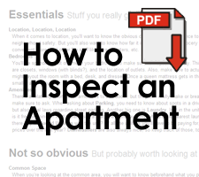 Apartment Inspection Checklist - Jump Off Campus