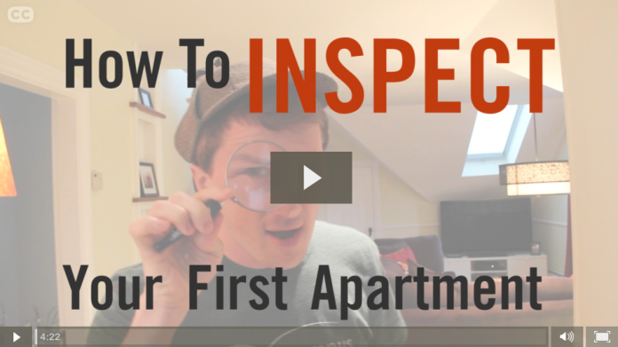 How To Inspect Your First Apartment - Screengrab